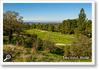 Second Hole at Diablo Hills Golf Course
